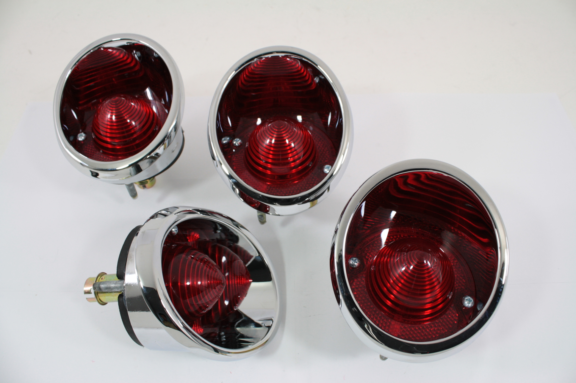 63 64 65 66 67 Corvette Tail Light Assembly Set (4) New